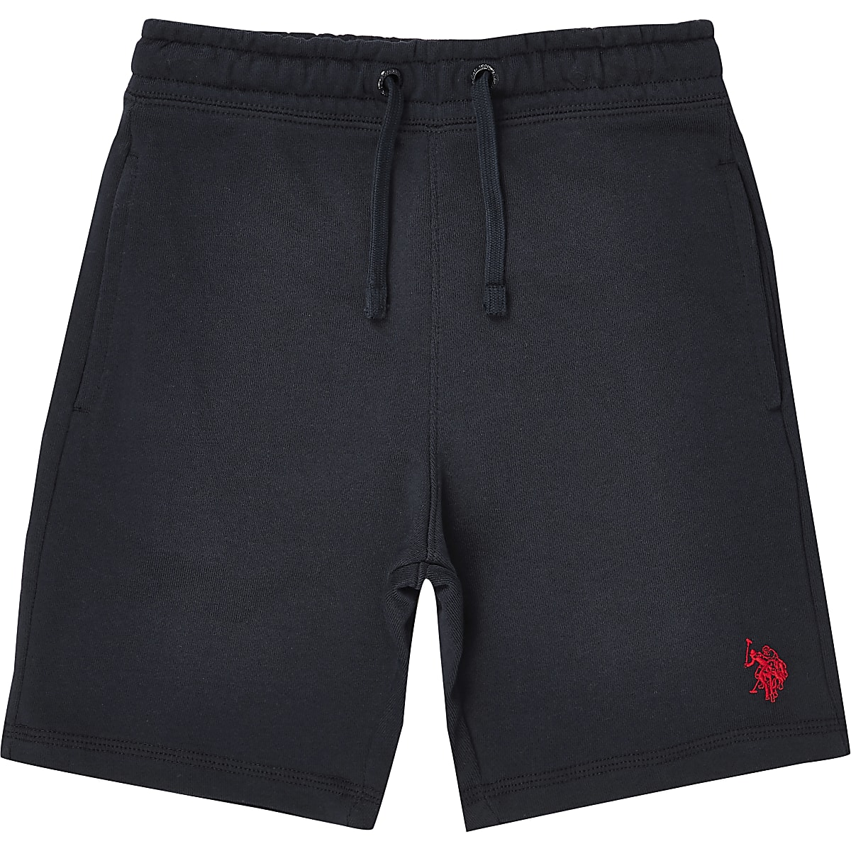Boys navy U.S. Polo Assn. jersey shorts