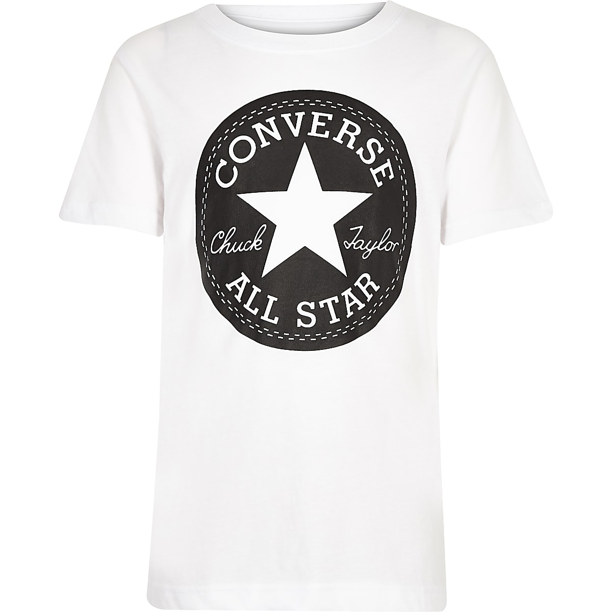 Boys white Converse logo print T-shirt