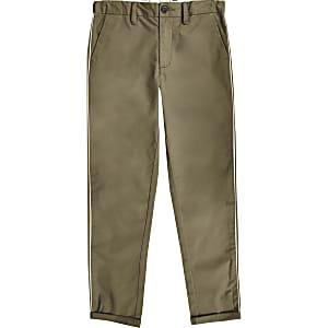 Pantalon habillé kaki pour garçon