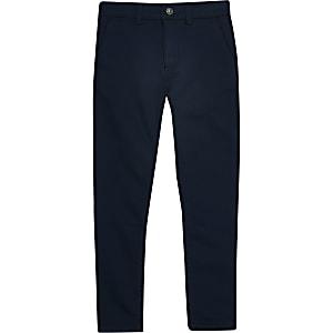 Marineblauwe nette broek voor jongens