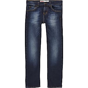 Levi's – Dunkelblaue Skinny Fit Jeans