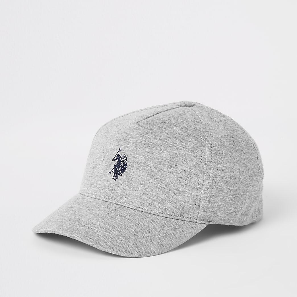 U.S. Polo Assn. ‒ Graue Kappe