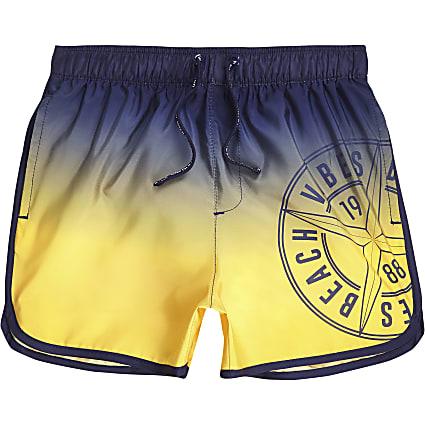 Boys ombre runner swim shorts