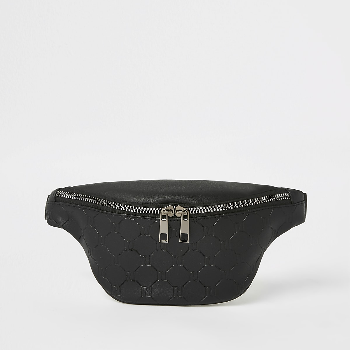 Boys black RI bum bag