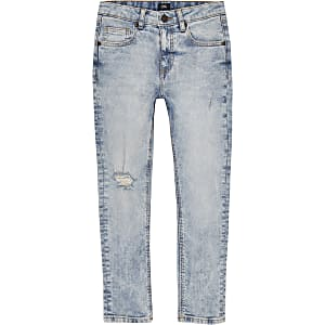 Sid – Jean skinny bleu clair pour garçon