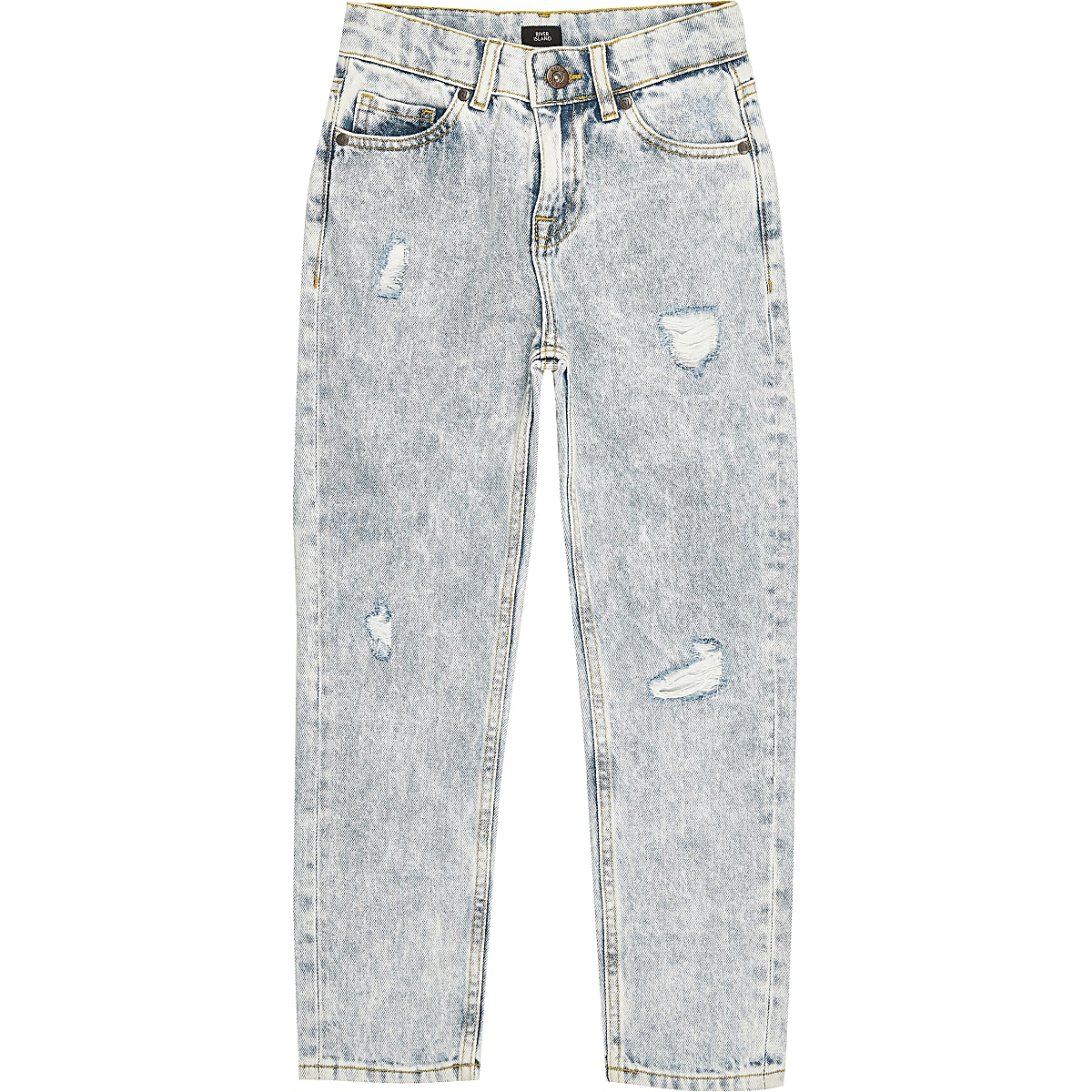 Boys light blue Bobby loose fit jeans