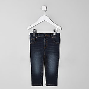 Mini boys dark blue Sid skinny jeans
