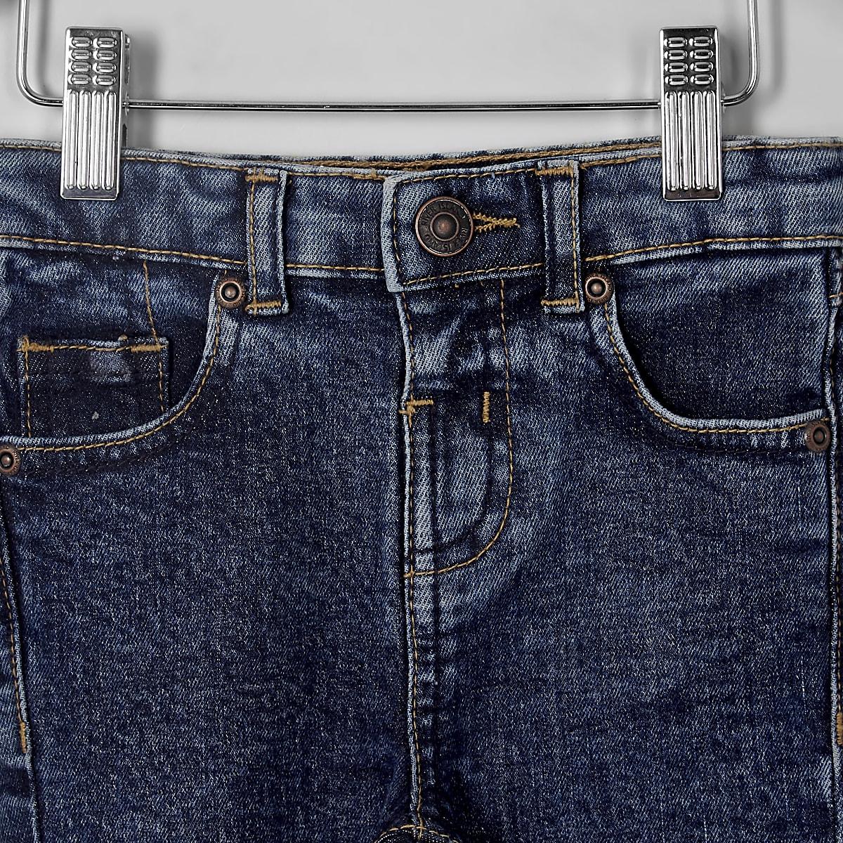 479280e0f Mini boys dark blue Sid skinny jeans - Baby Boys Jeans - Mini Boys ...