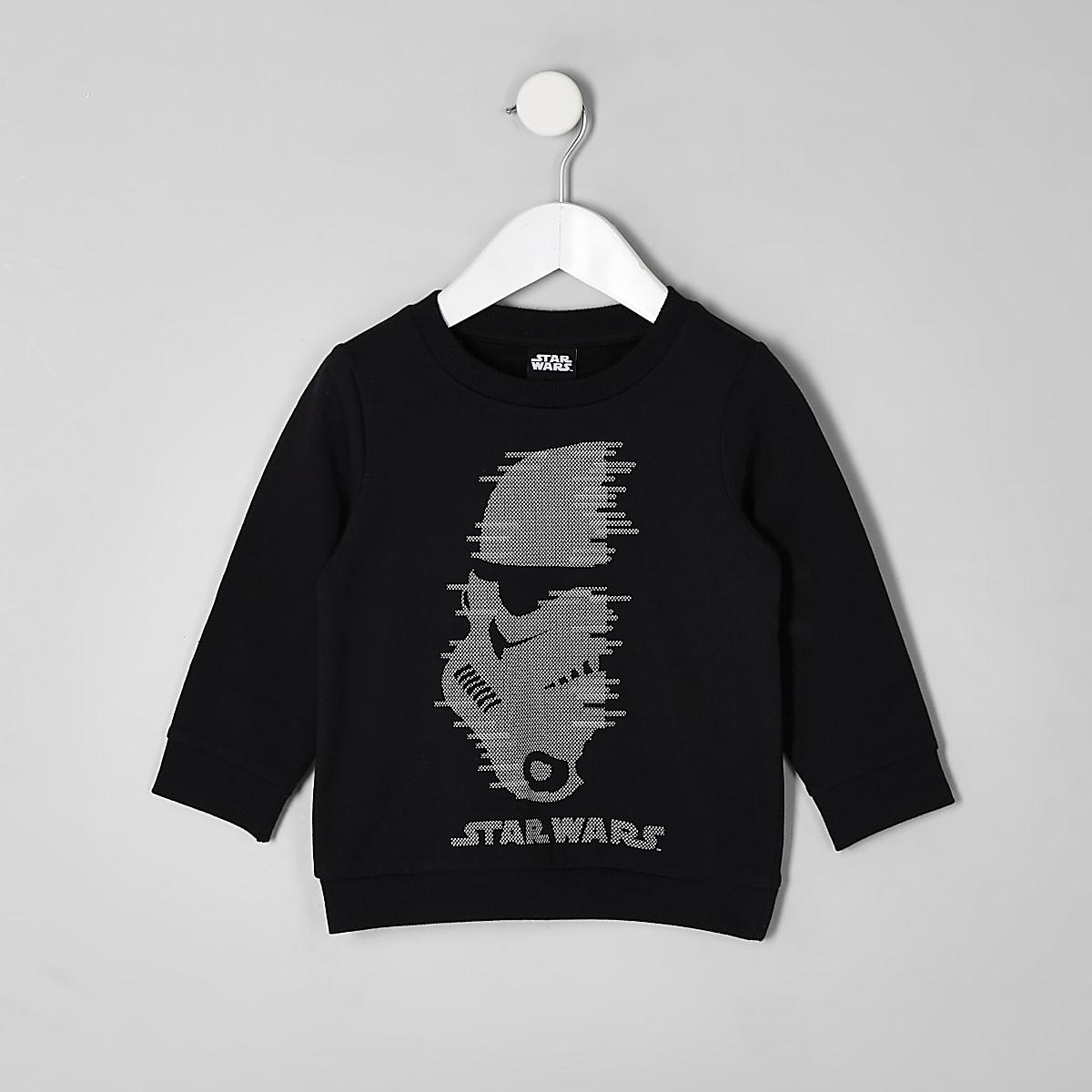 Mini boys Star Wars studded sweatshirt