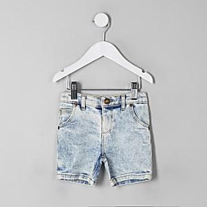 Dylan – Short en jean bleu clair mini garçon