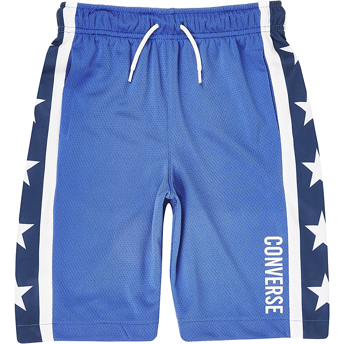 Boys blue Converse star shorts