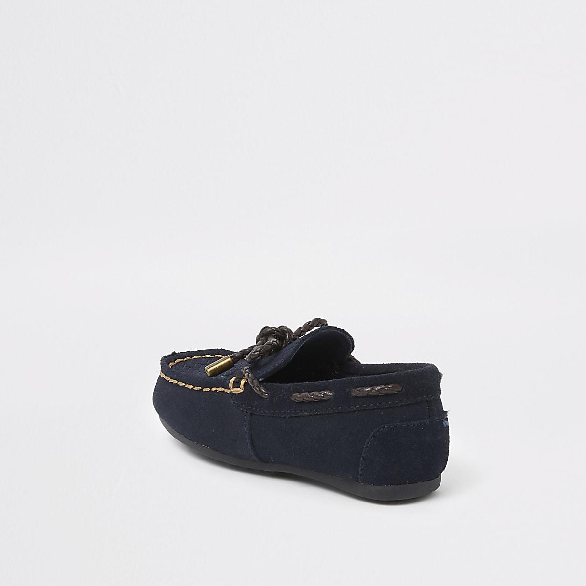 9f0436be97f Mini boys navy driver shoes - Baby Boys Shoes - Baby Boys Shoes ...