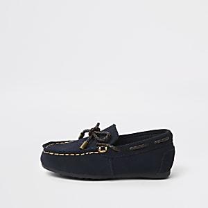 Marineblaue Schuhe für Jungen
