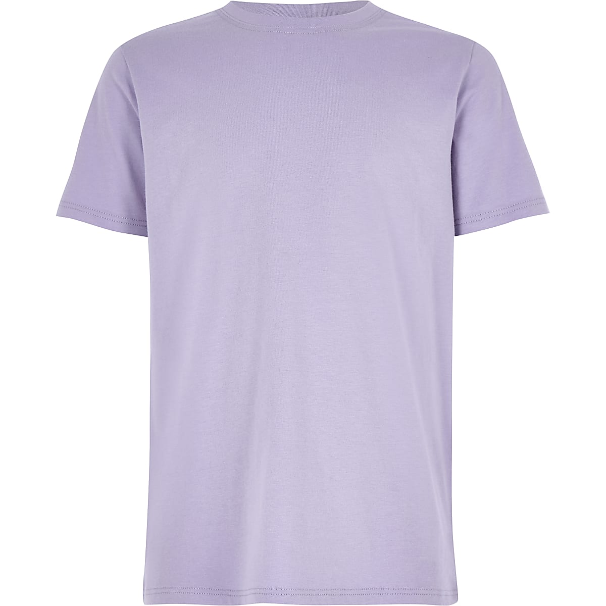 Boys purple crew neck T-shirt