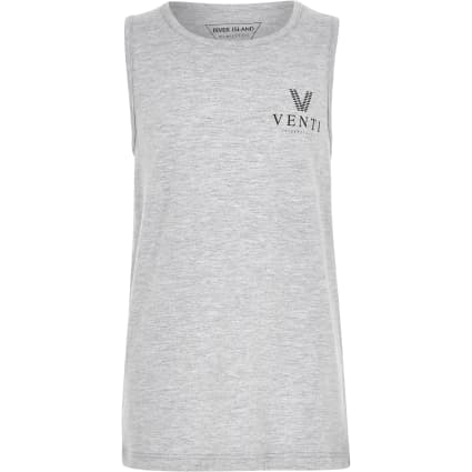 Boys grey marl 'Venti' vest