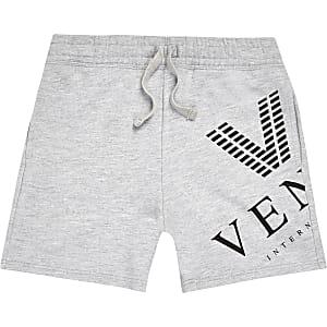 "Grau melierte Shorts ""Venti"""