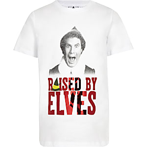 Boys white Elf T-shirt
