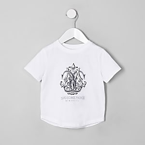 """Weißes T-Shirt """"handsome prince"""""""
