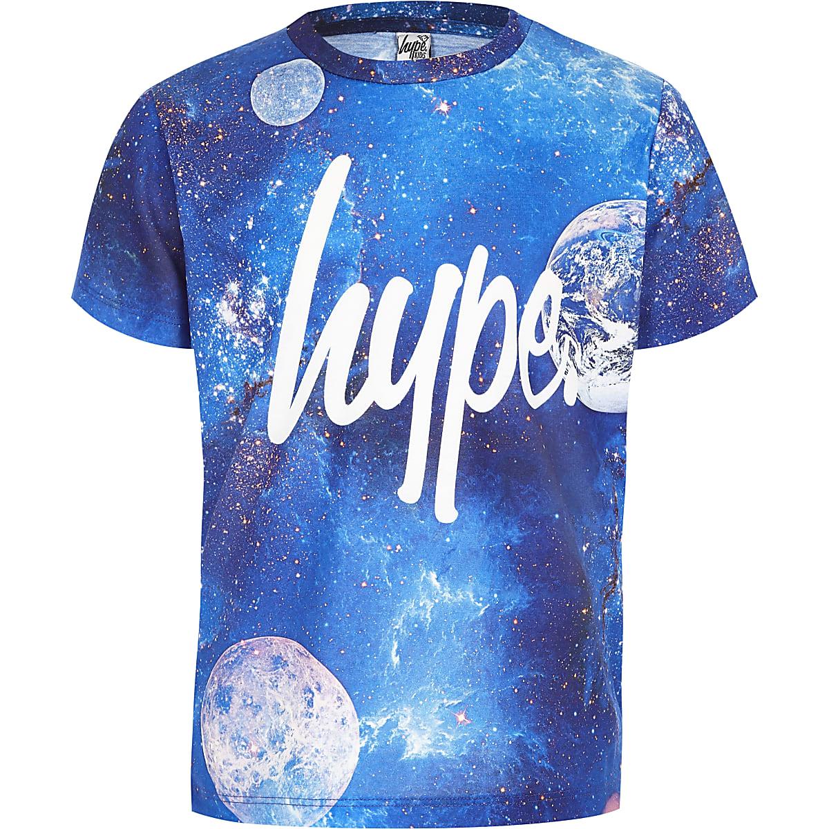 Boys Hype blue cosmic T-shirt