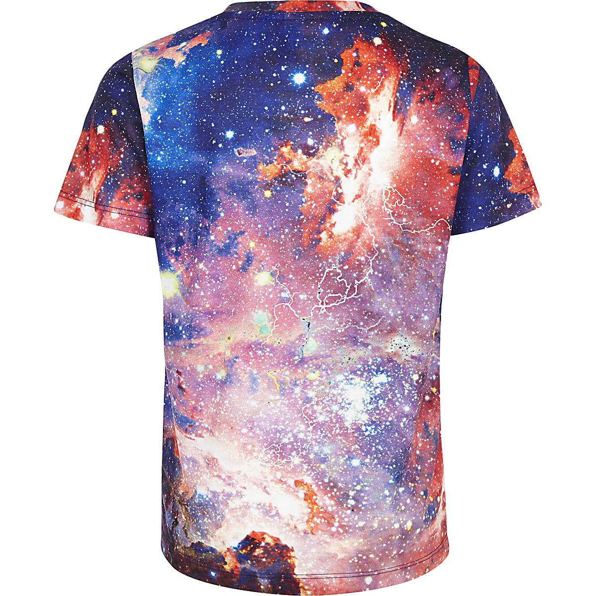 beba1dfe Boys purple Hype space T-shirt - T-shirts - T-Shirts & Vests - boys