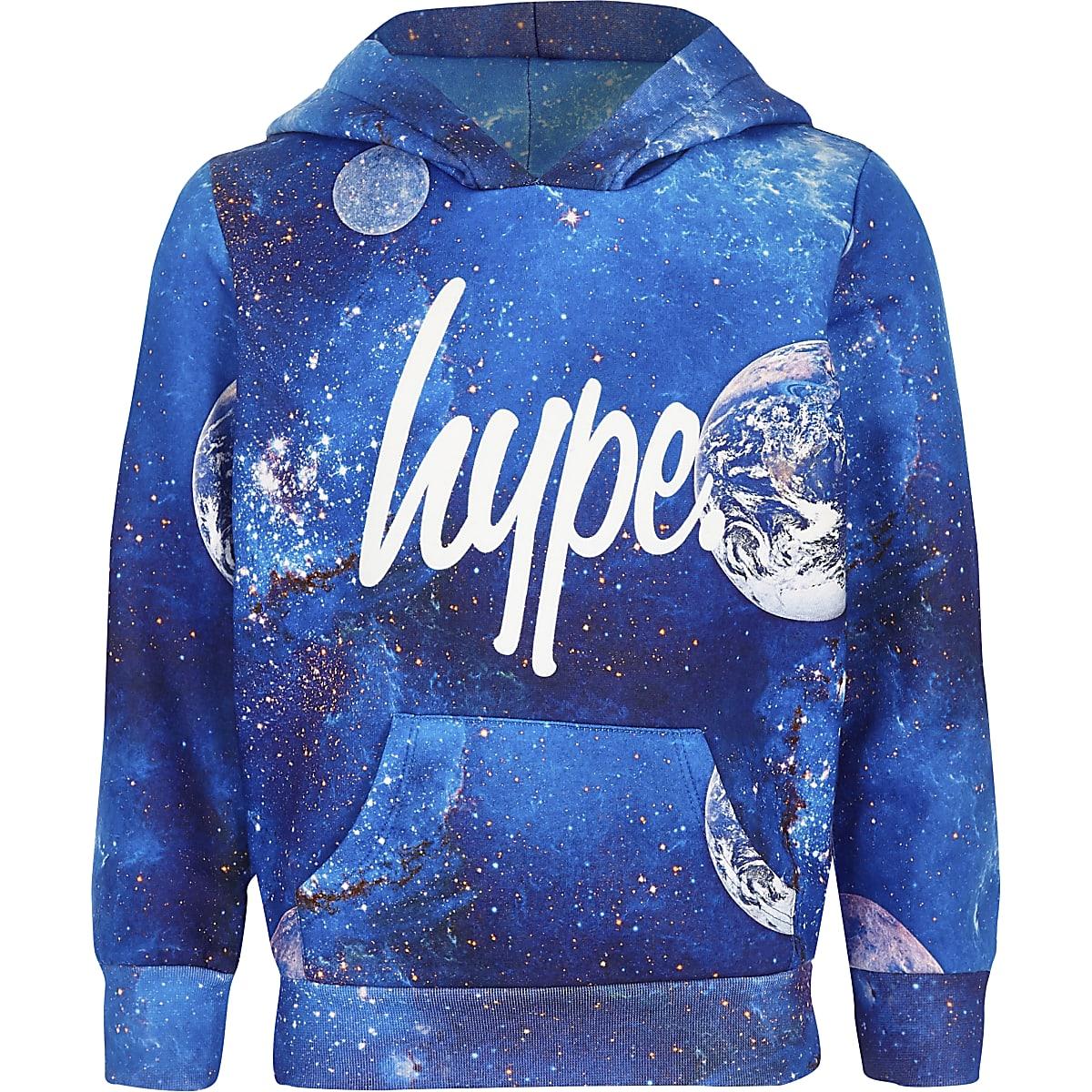 Boys blue Hype cosmic hoodie