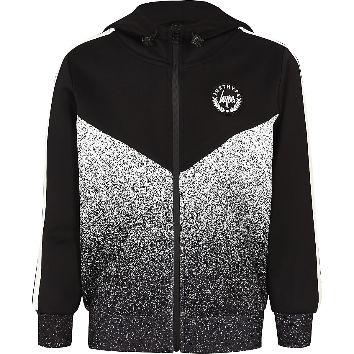 Boys Hype speckle fade hoodie