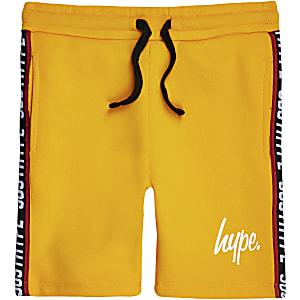 Hype – Short jaune à bande pour garçon