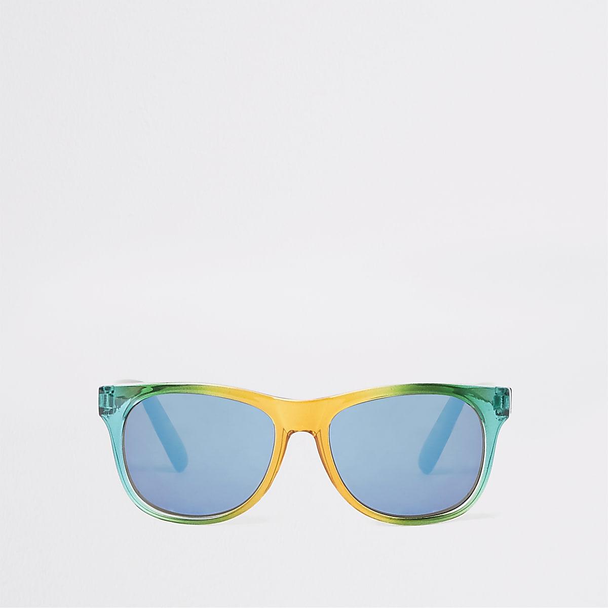 Boys rainbow retro sunglasses