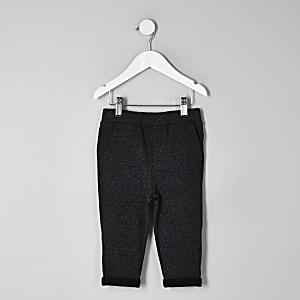 Pantalon de jogging gristexturé mini garçon