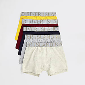 Boys mixed colored boxers multipack