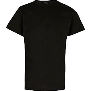 T-shirt imprimé noir pour garçon