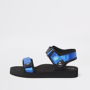Boys blue Velcro sandals