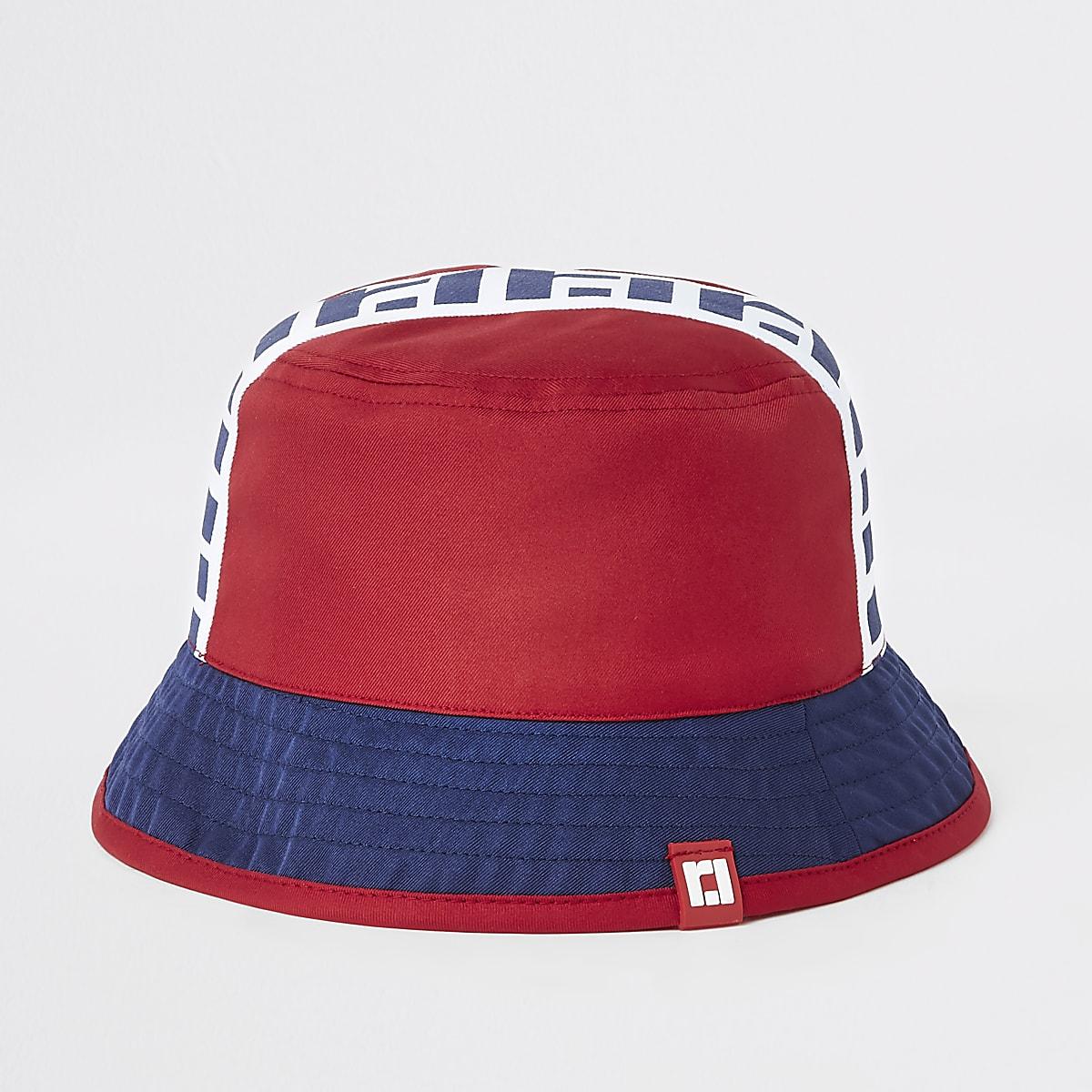 95bab22008560 Mini boys red RI reversible bucket hat - Baby Boys Accessories - Mini Boys  - boys