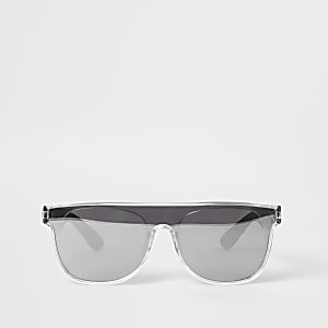 Mini boys black visor sunglasses
