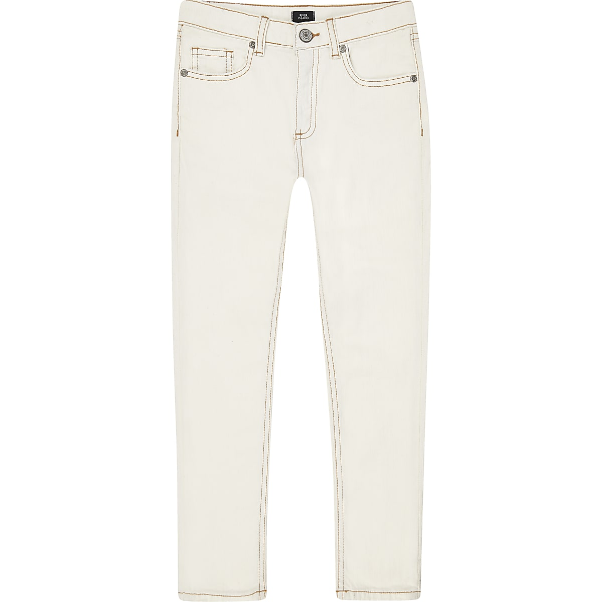 Boys cream Sid skinny jeans