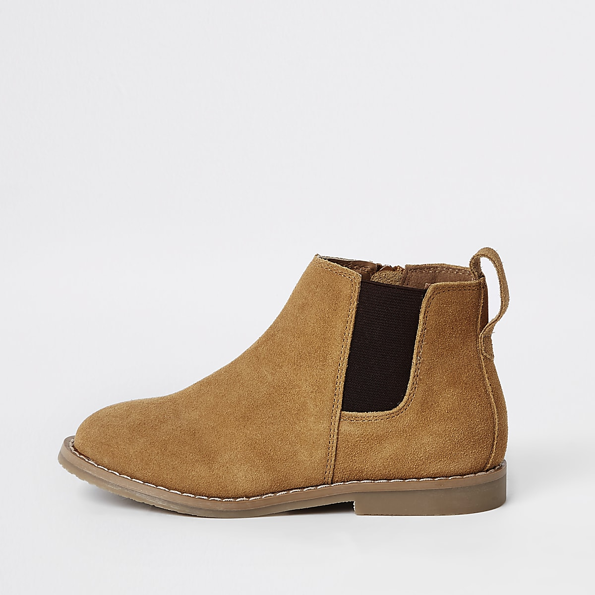 Boys brown chelsea boots