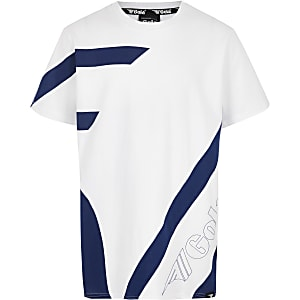 Boys white Gola Exclusive T-shirt