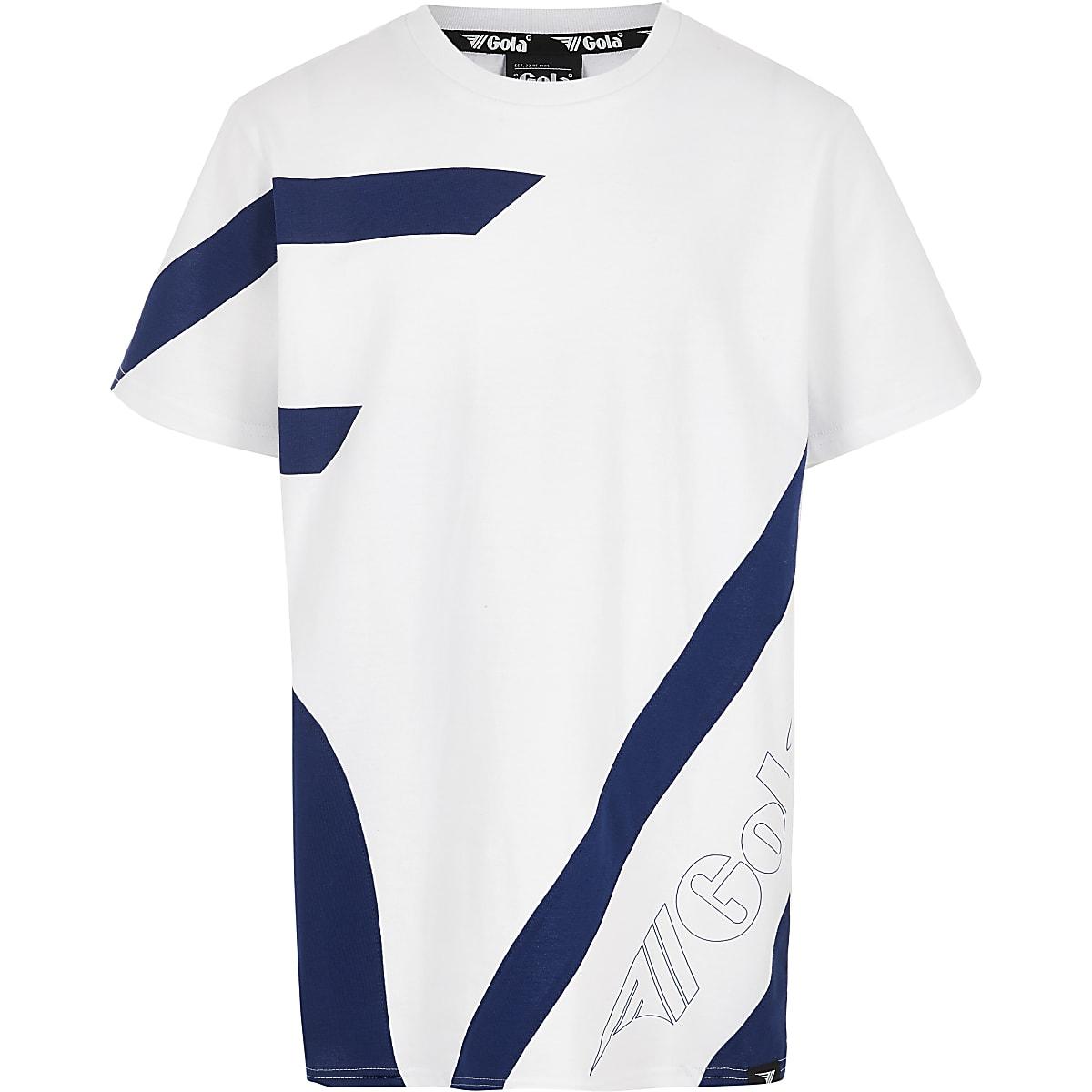 Boys white Gola Exclusive T-shirt