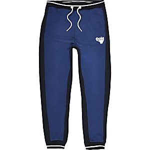 Boys blue Gola Exclusive joggers