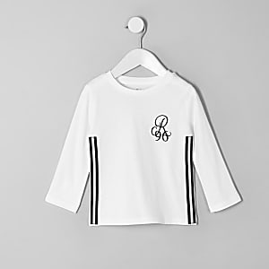 Mini boys white R96 tape T-shirt
