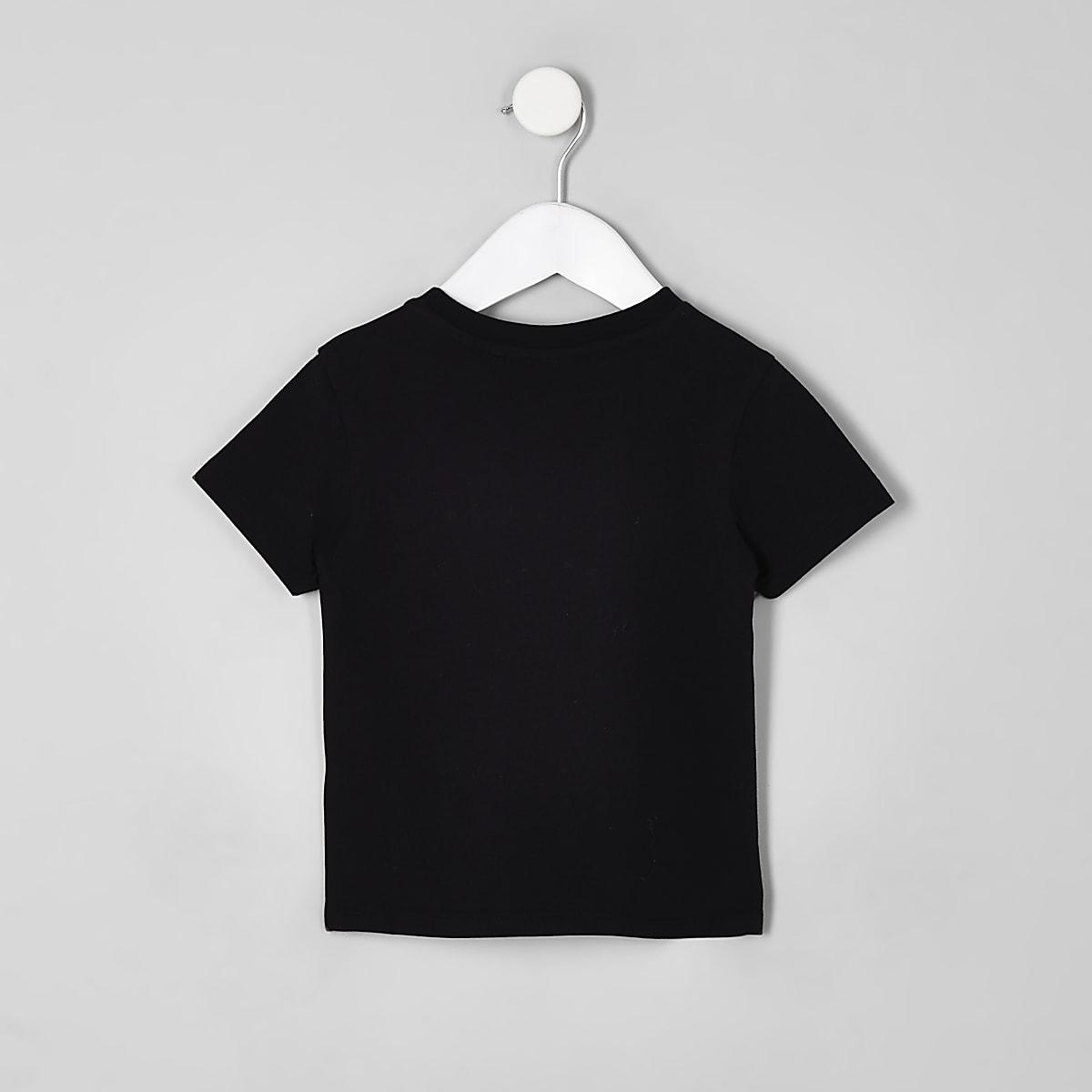 c85a6bfc Mini boys black Biggie Smalls T-shirt - Baby Boys Tops - Mini Boys ...