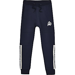 Kings Will Dream – Pantalon de jogging bleu marine pour garçon