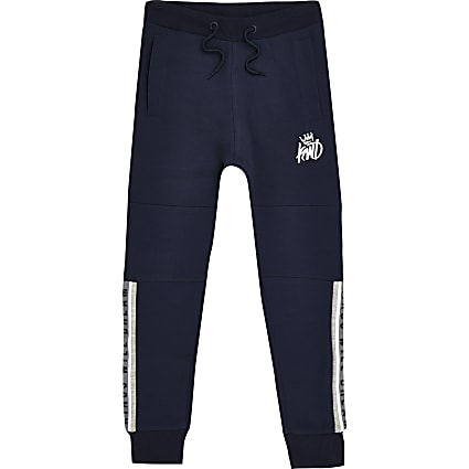 Boys navy Kings Will Dream joggers
