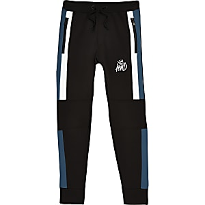 Boys black Kings Will Dream joggers