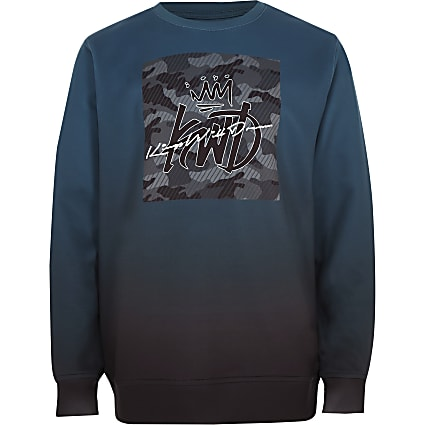 Boys green Kings Will Dream sweatshirt