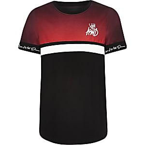 Boys red Kings Will Dream T-shirt