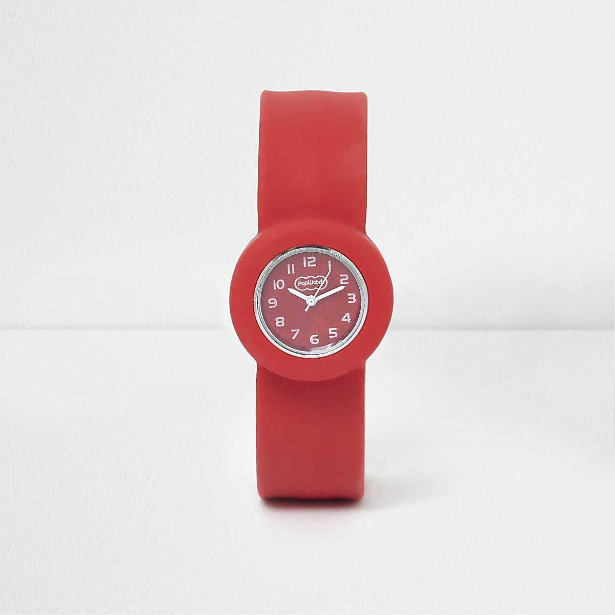 Boys red pop watch
