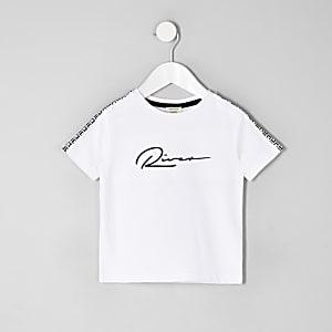 Mini - Wit 'River' T-shirt voor jongens