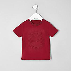 T-shirt «Brnx» rouge mini garçon
