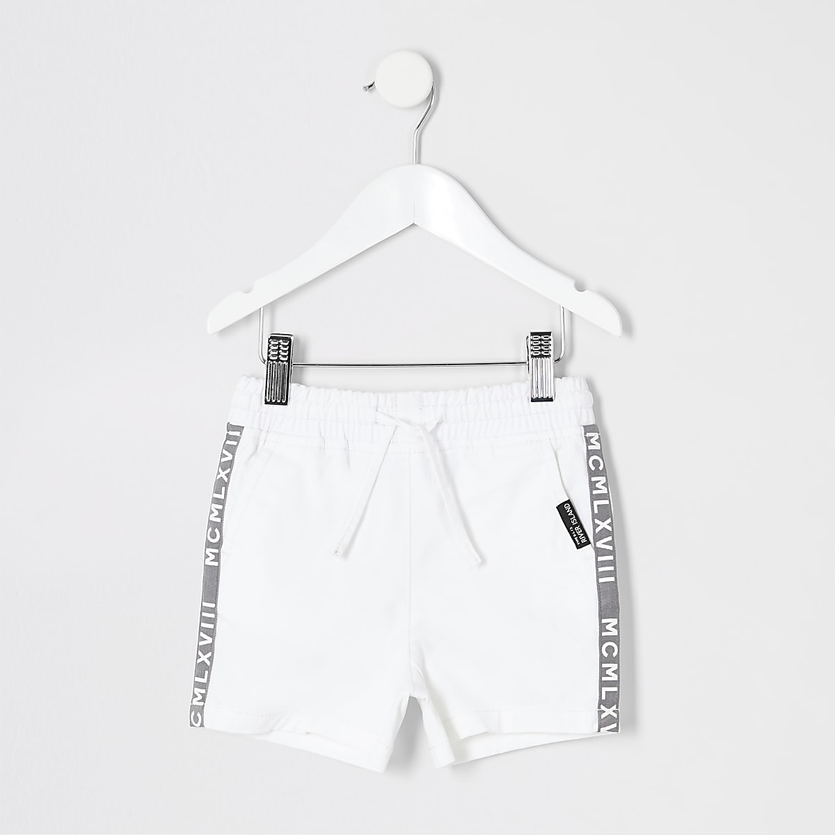 2019 clearance sale available new york Mini boys white pull on shorts